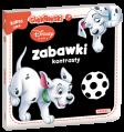 Disney Baby Zabawki i kontrasty książeczka DBO10