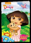 Dora Poznaje Świat. Koloruję, rozwiązuję