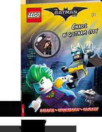Książka LEGO Batman zklockami