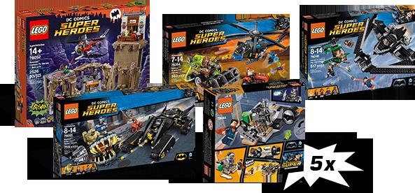 Batman nagrody konkursu z klockami LEGO