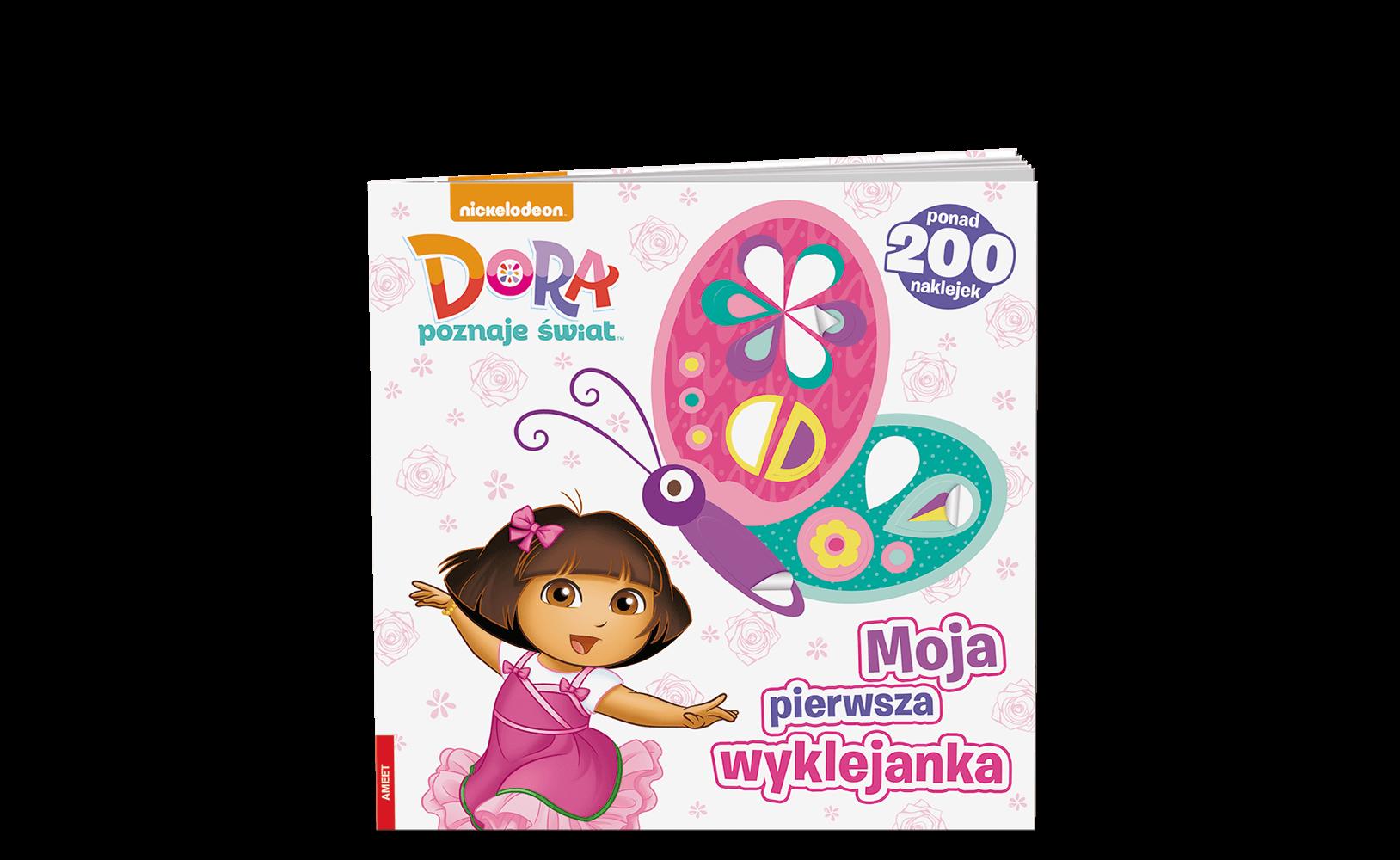 Dora poznaje świat. Moja Pierwsza Wyklejanka