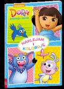 Dora poznaje świat. Naklejam i koloruję
