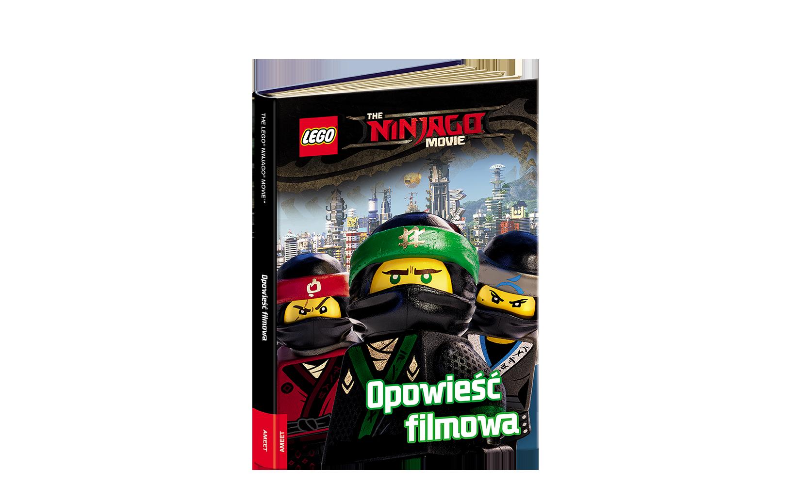 THE LEGO® NINJAGO® MOVIE™. Opowieść filmowa
