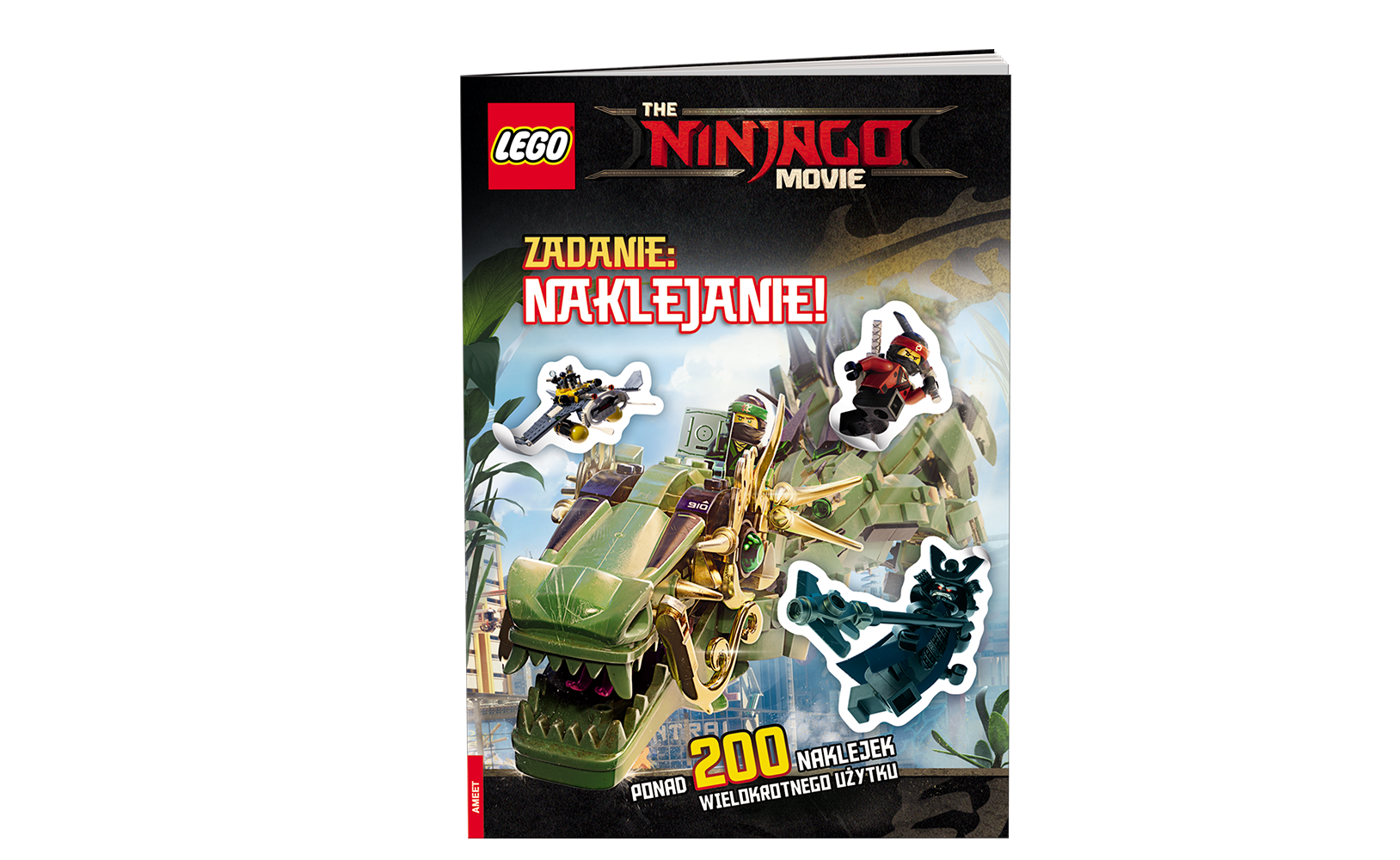 THE LEGO® NINJAGO® MOVIE™. Zadanie: naklejanie!