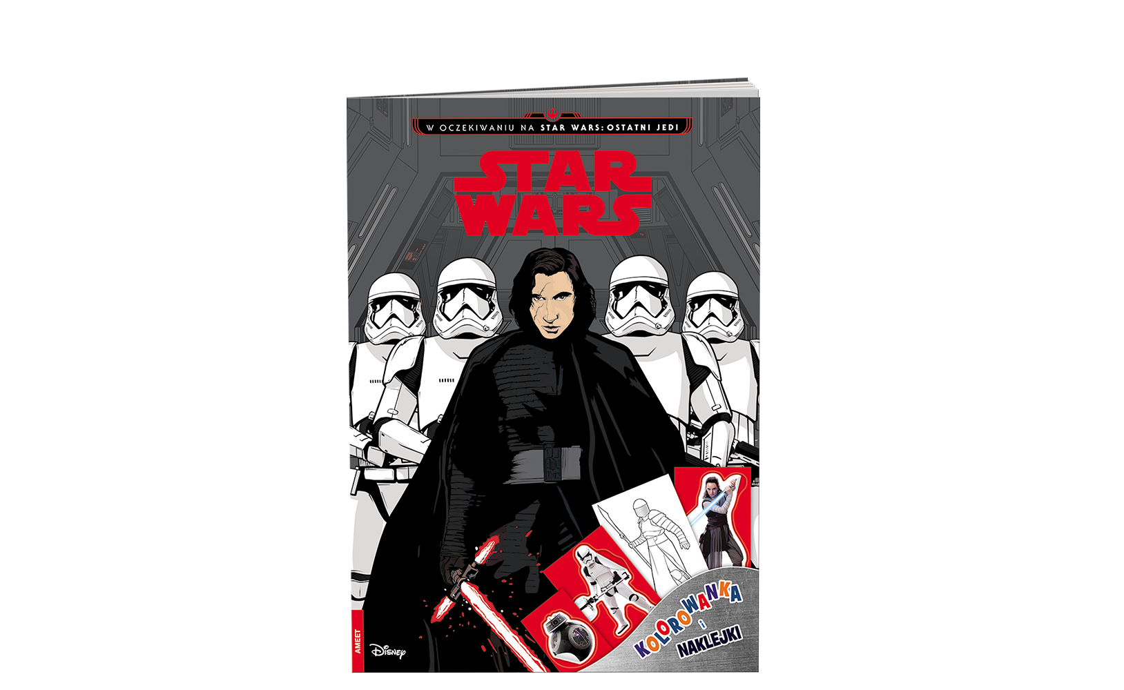 Star Wars™. Kolorowanka inaklejki