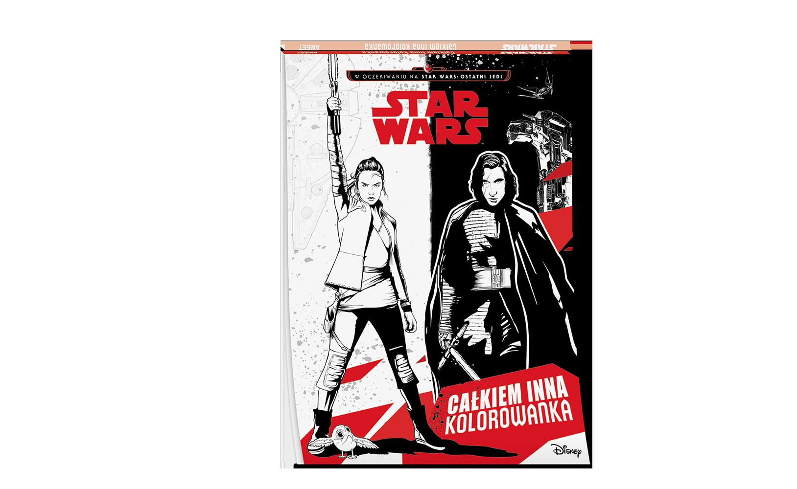 Star Wars™. Całkiem inna kolorowanka