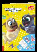 Bingo i Rolly w akcji. Kolorowanka i Naklejki