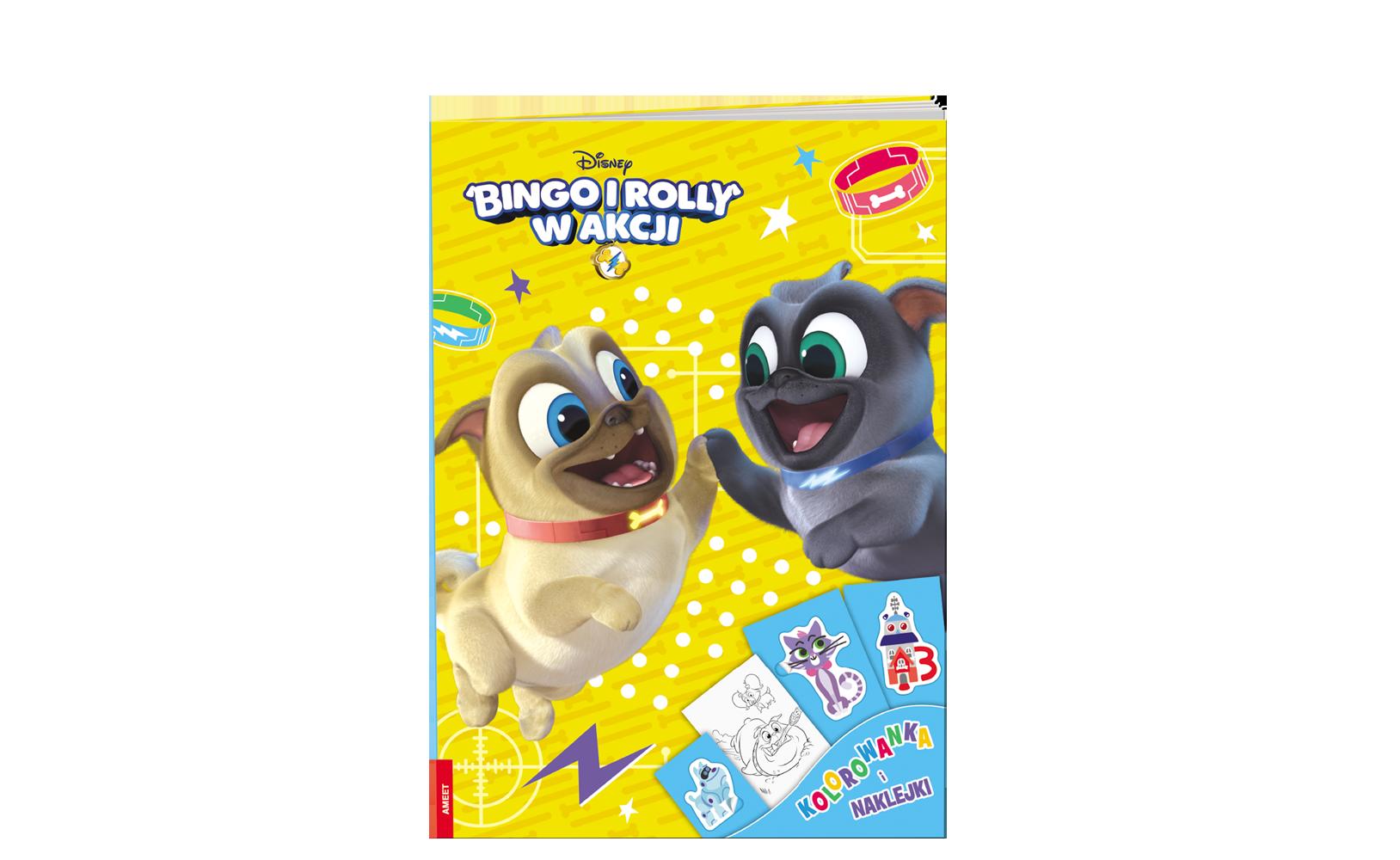 Bingo iRolly wakcji. Kolorowanka iNaklejki