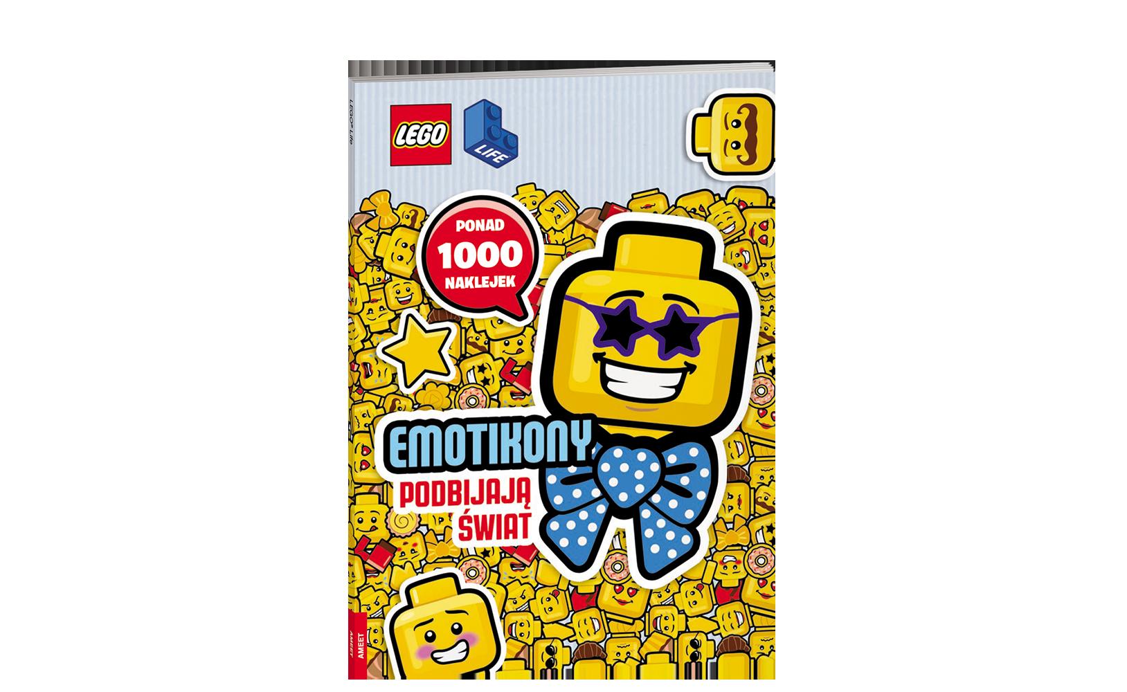 LEGO® Iconic. Emotikony podbijają świat
