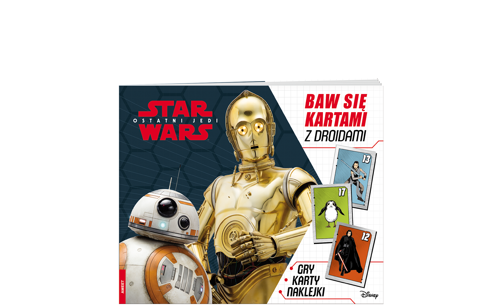 Star Wars™ Ostatni Jedi. Baw się kartami zdroidami