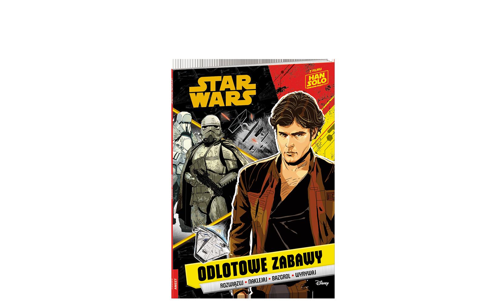 Han Solo: Gwiezdne wojny – historie. Odlotowe zabawy