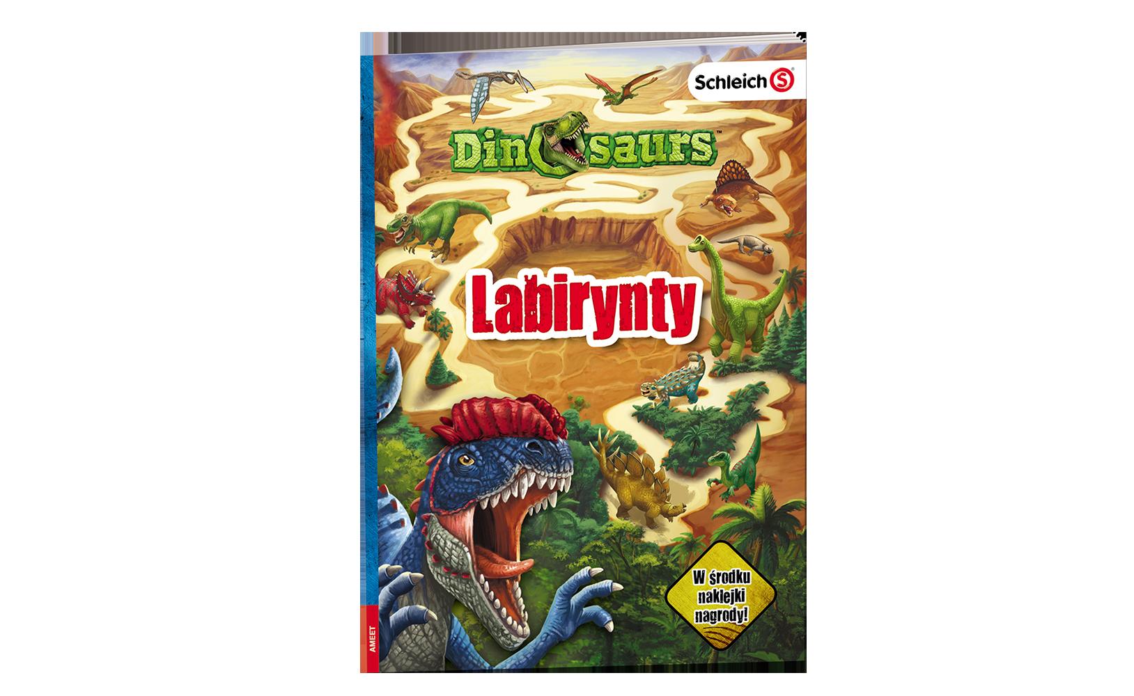 Dinosaurs. Labirynty