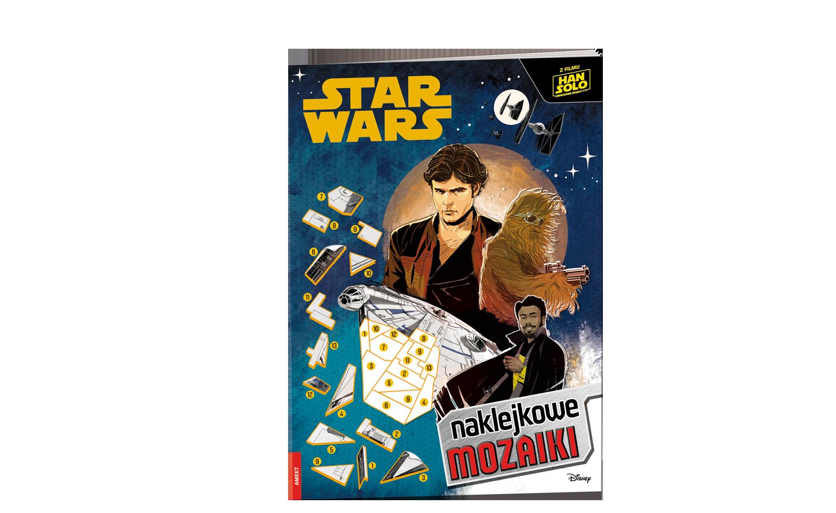 Han Solo: Gwiezdne wojny – historie. Naklejkowe Mozaiki