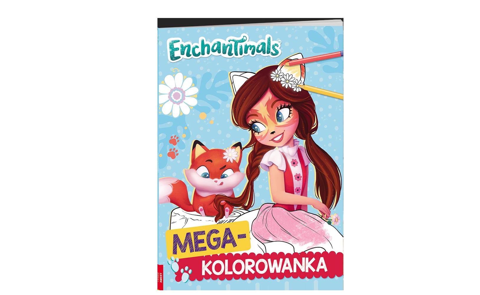 Enchantimals™. Megakolorowanka