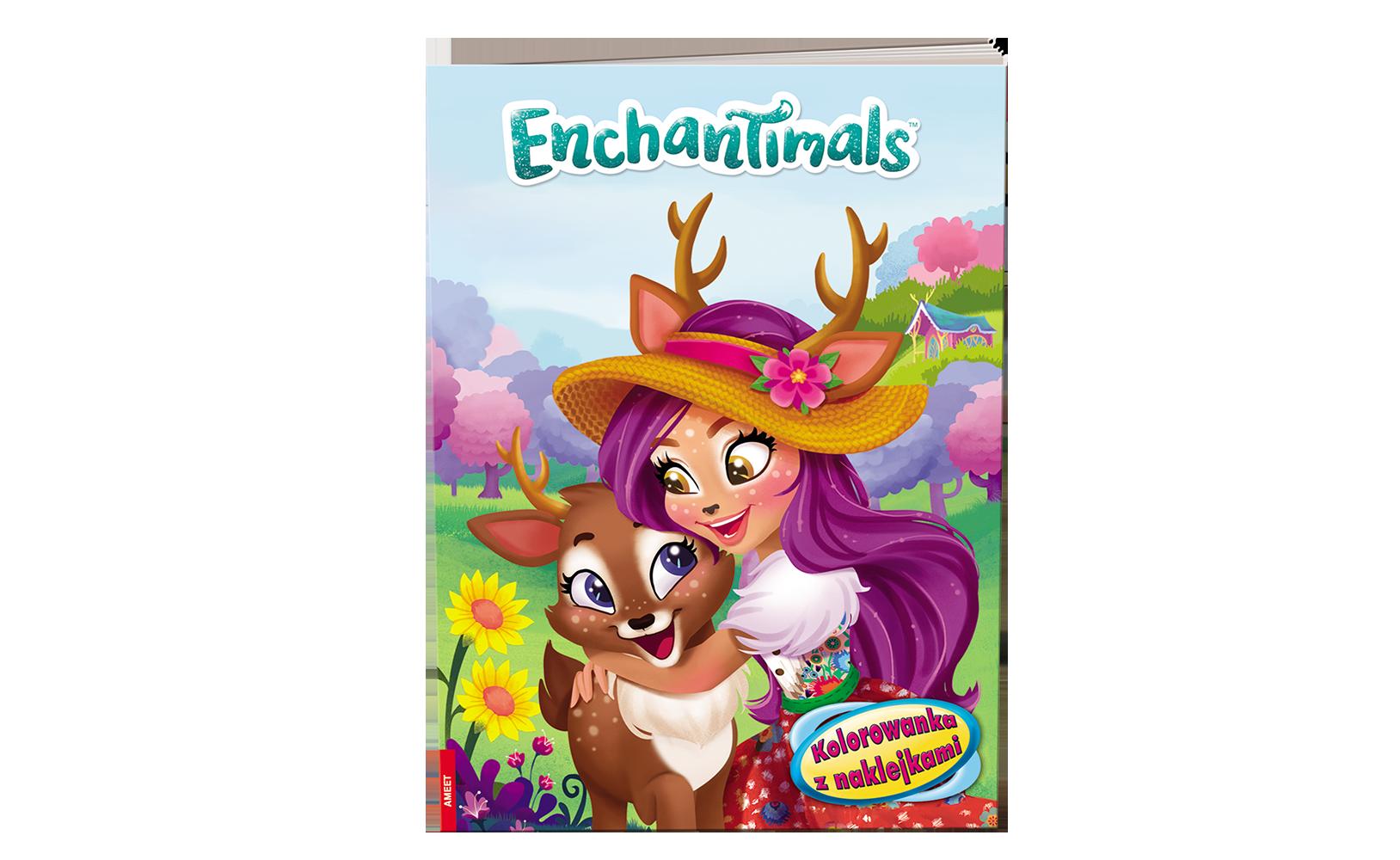 Enchantimals™. Kolorowanka zNaklejkami