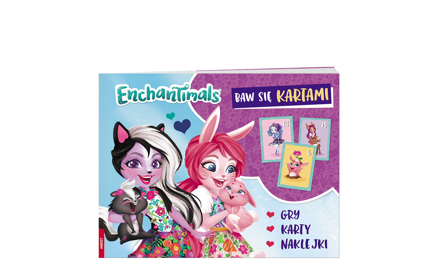 Enchantimals™. Baw się kartami