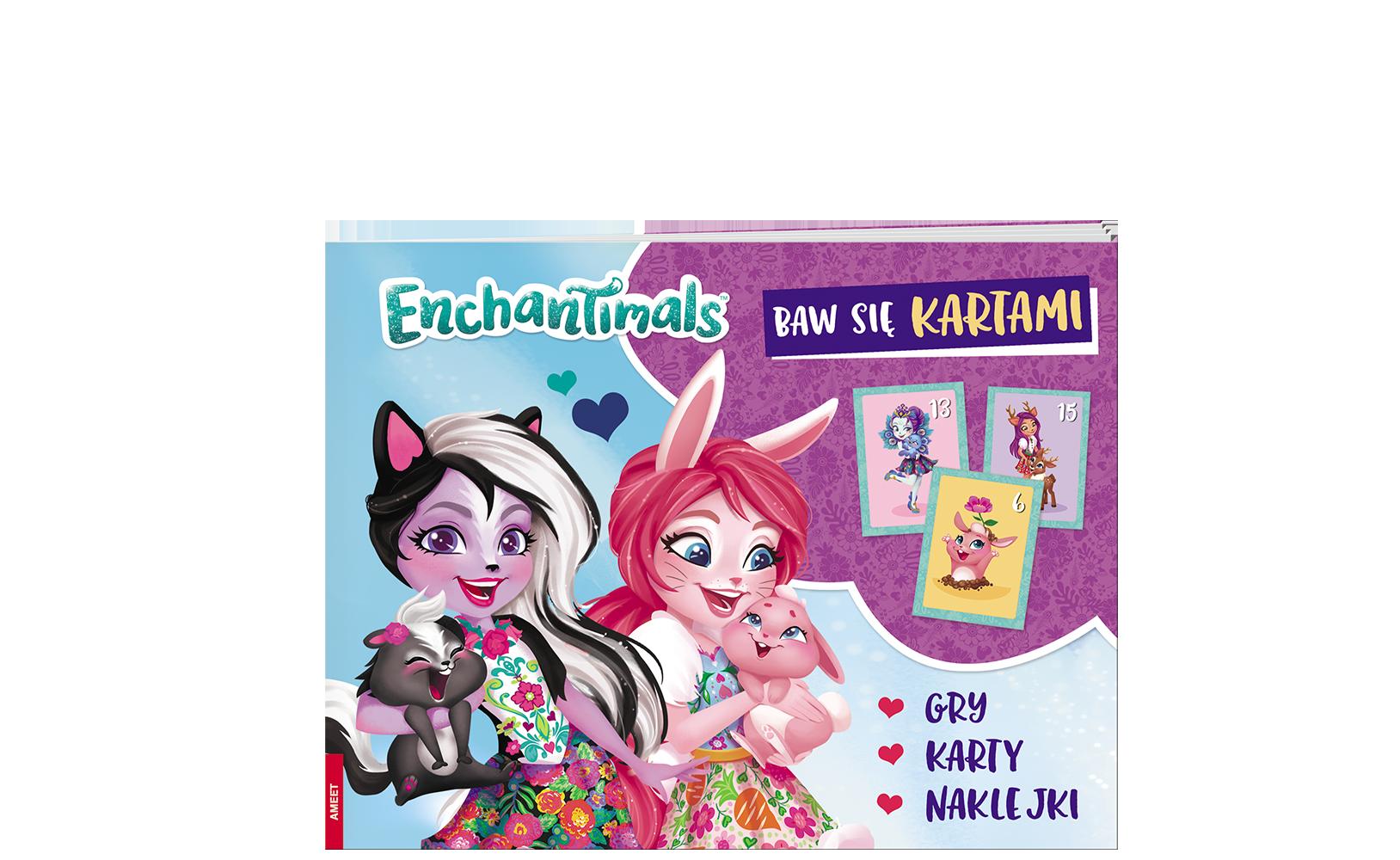 Enchantimals™. Baw się kartami