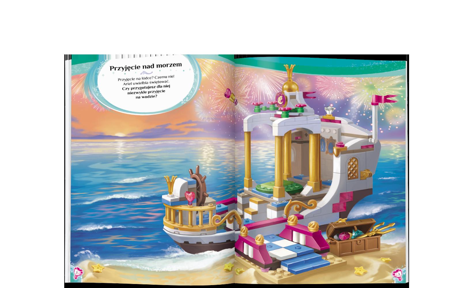 LEGO® Disney Księżniczka™. Naklejkowe Scenki