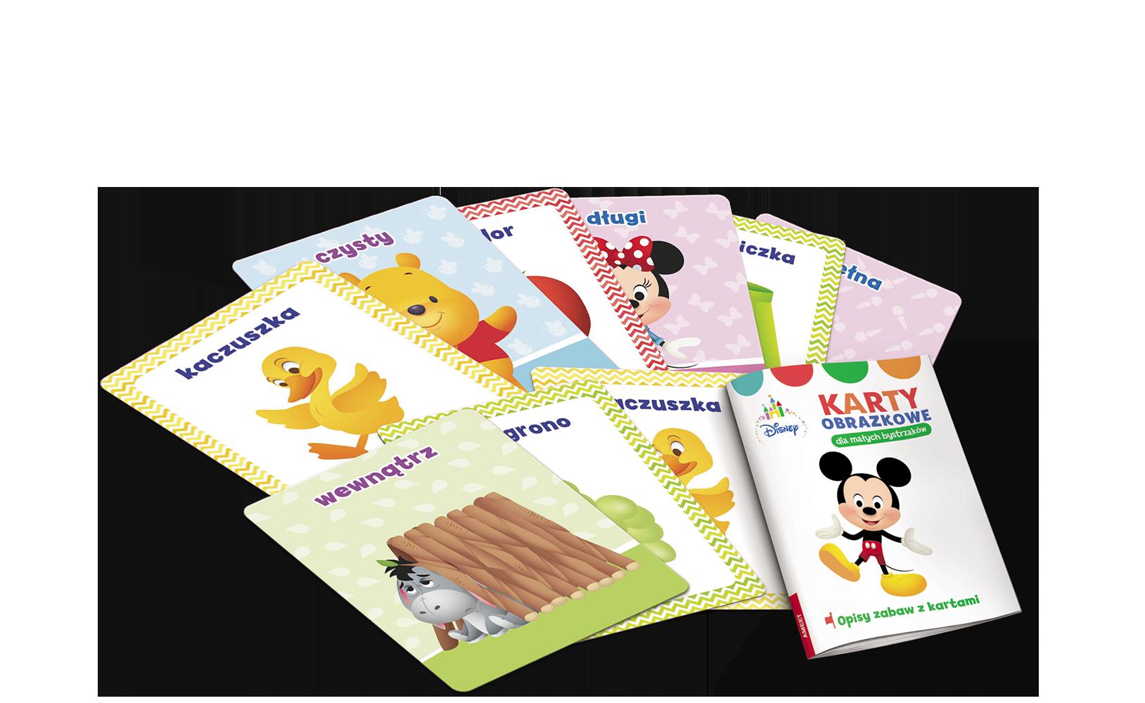 Disney Maluch. Karty obrazkowe