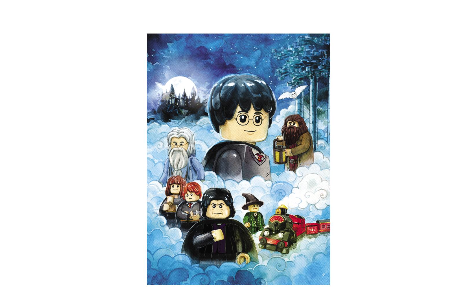 LEGO® Harry Potter™. Kolekcja plakatów
