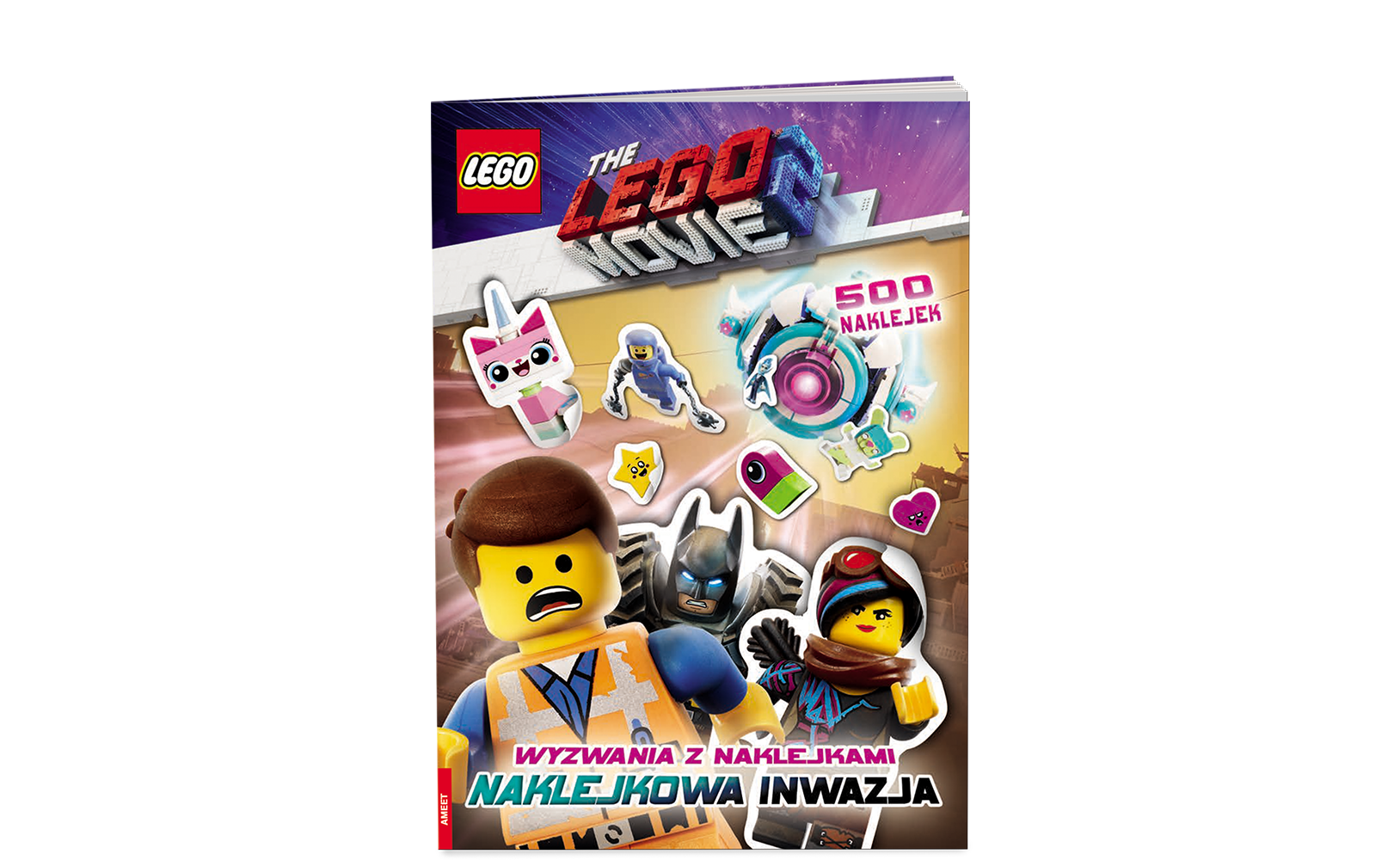 THE LEGO® MOVIE 2™. WYZWANIA Z NAKLEJKAMI: NAKLEJKOWA INWAZJA