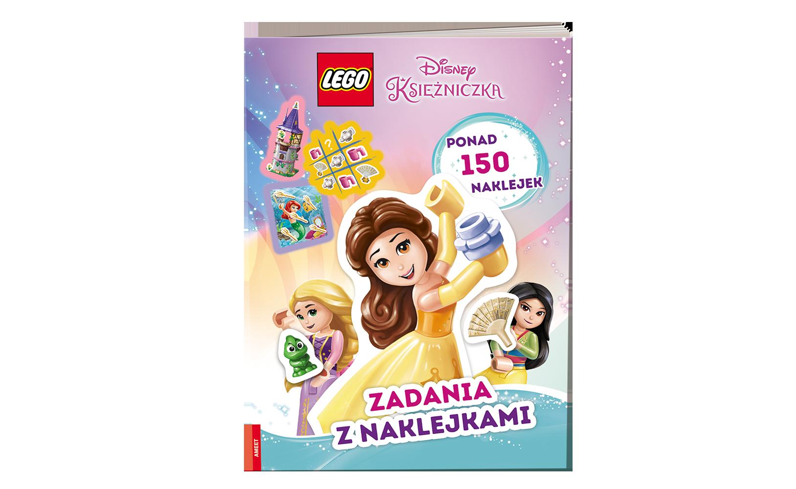 LEGO® Disney Księżniczka™. Zadania zNaklejkami