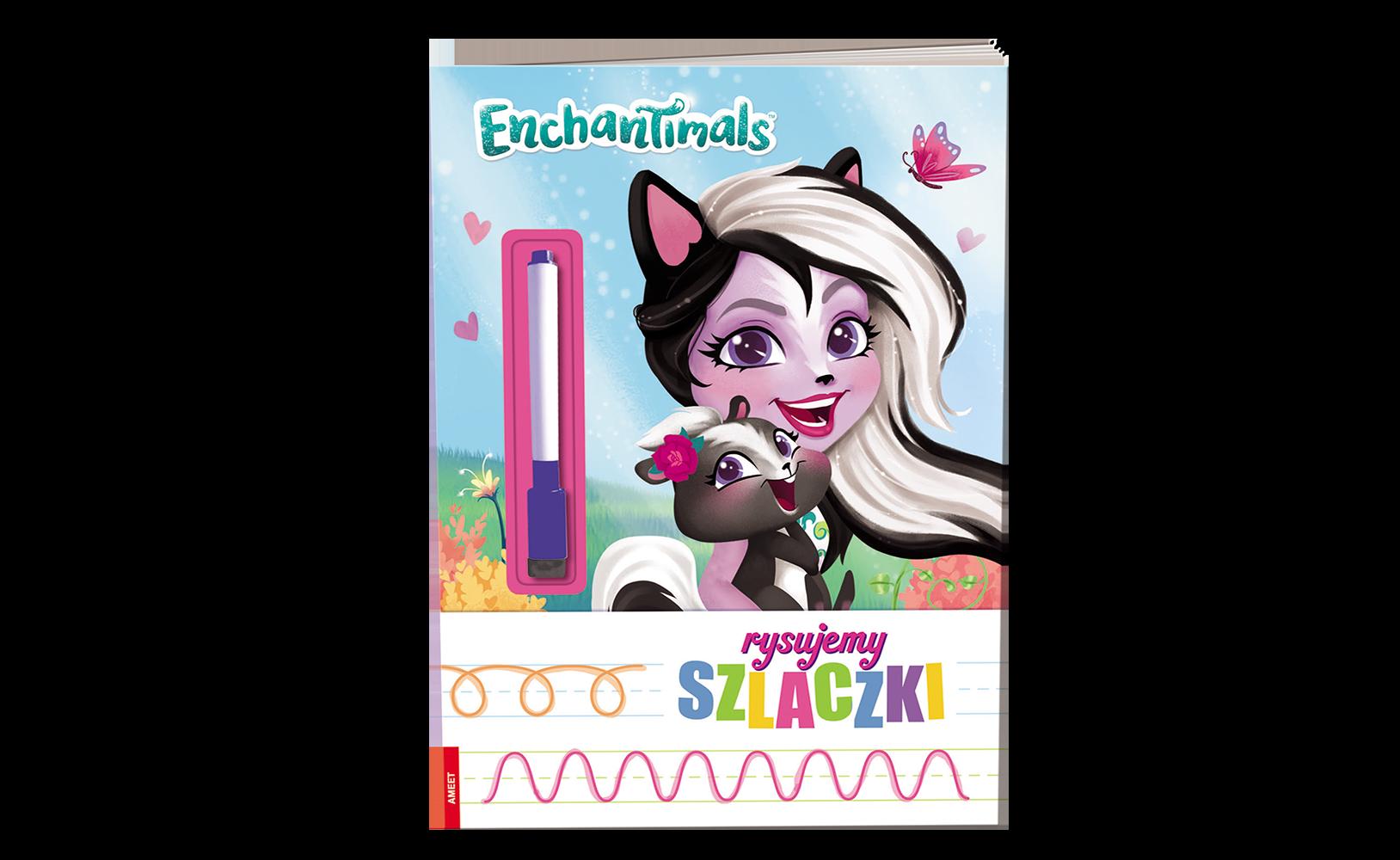 Enchantimals™. Rysujemy Szlaczki
