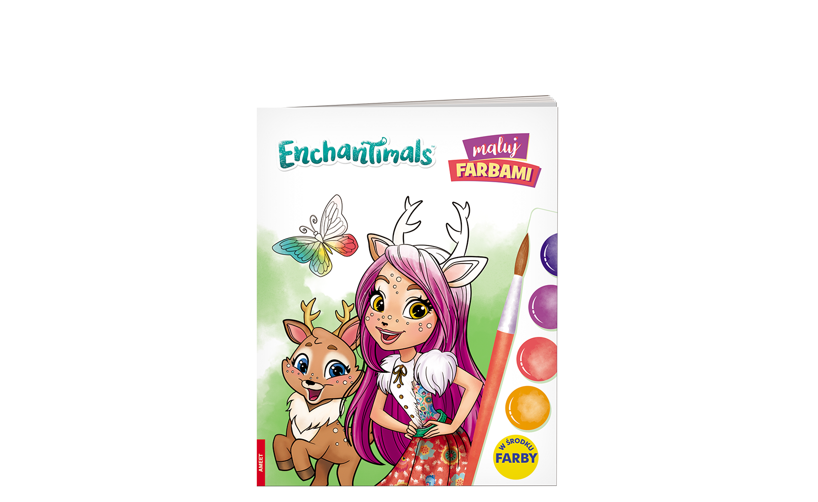 Enchantimals™. Maluj Farbami