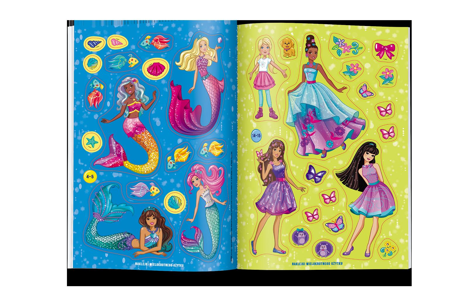 Barbie™ Dreamtopia. Scenki zNaklejkami