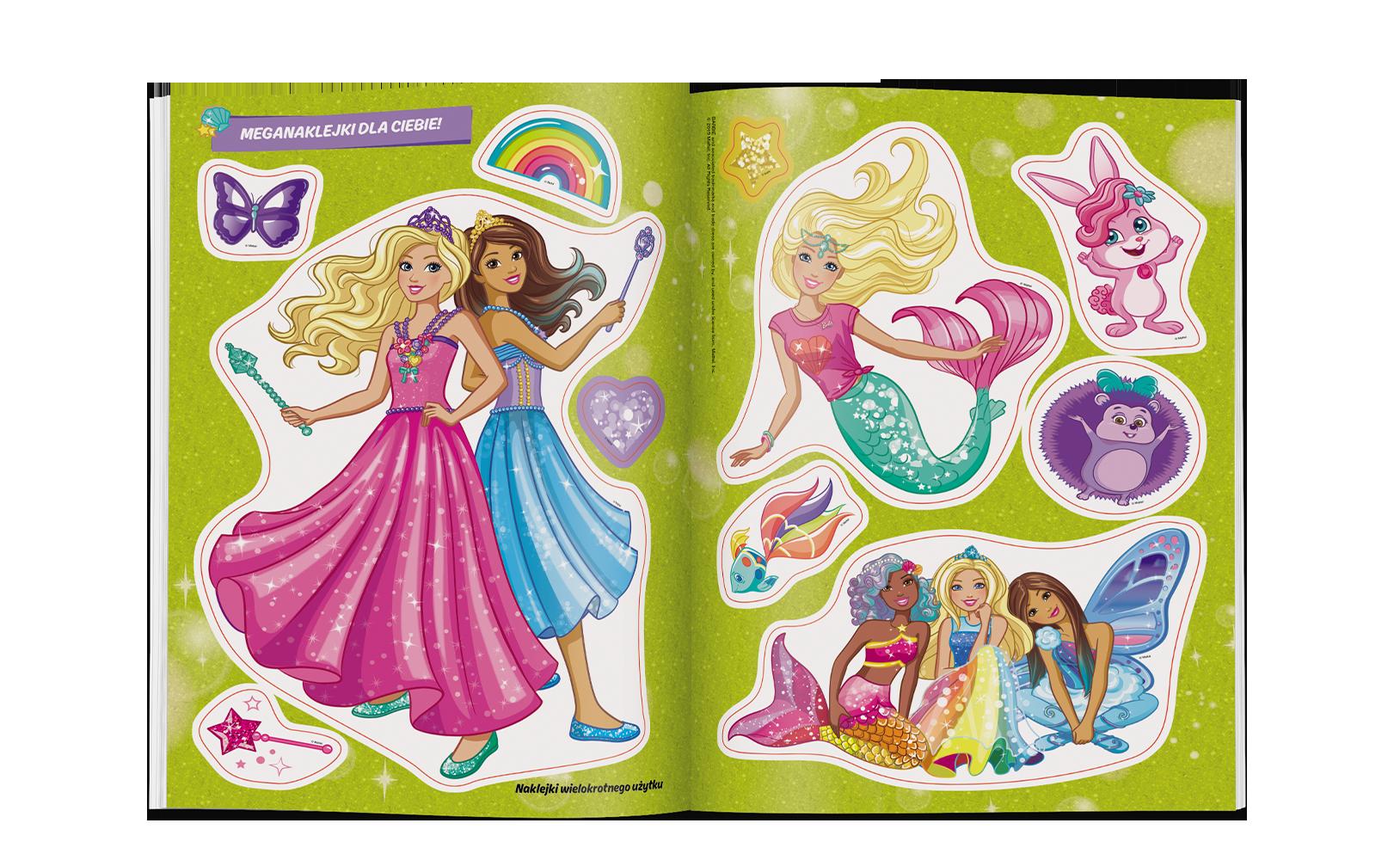 Barbie™ Dreamtopia. Ubrania doNaklejania