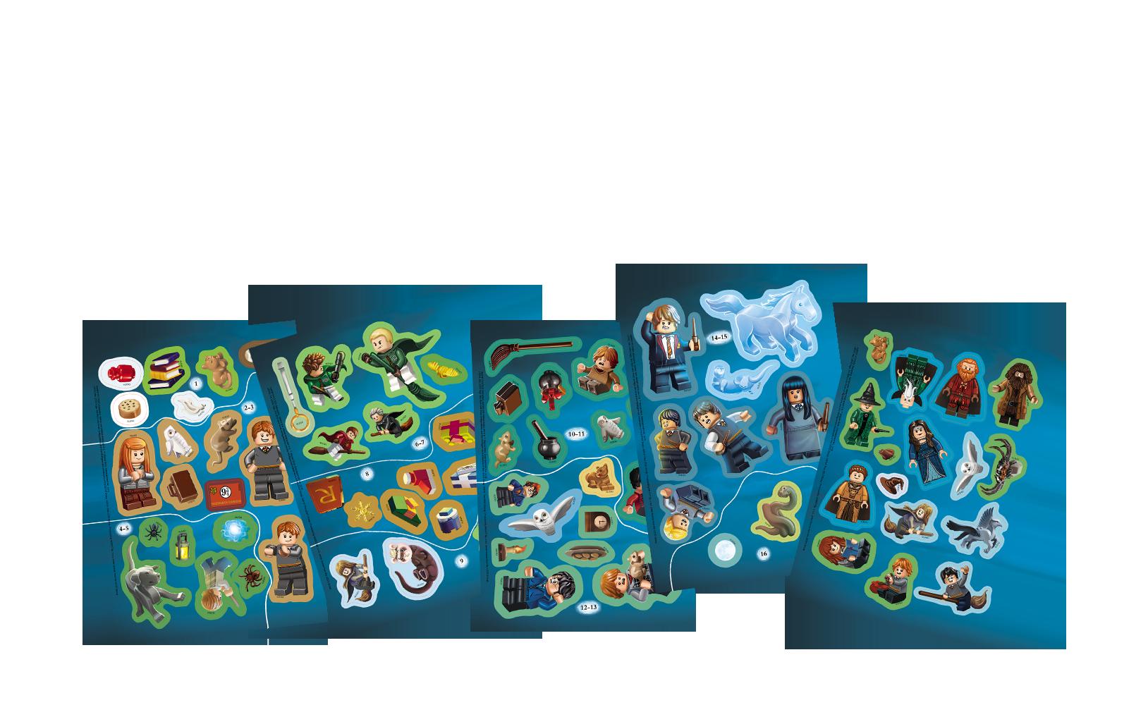 LEGO® Harry Potter™. Zestaw książek zklockami LEGO