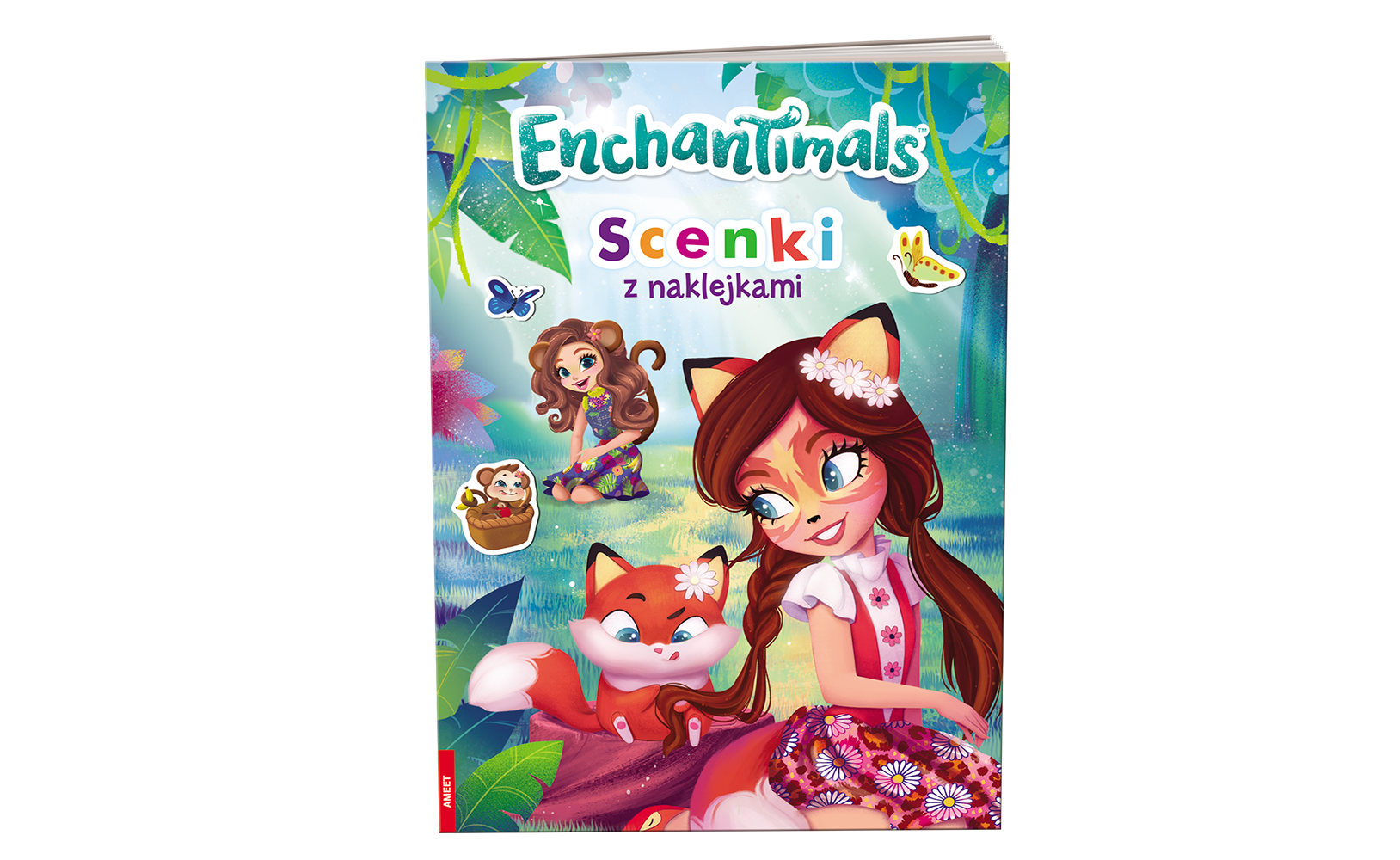 Enchantimals™. Scenki z Naklejkami