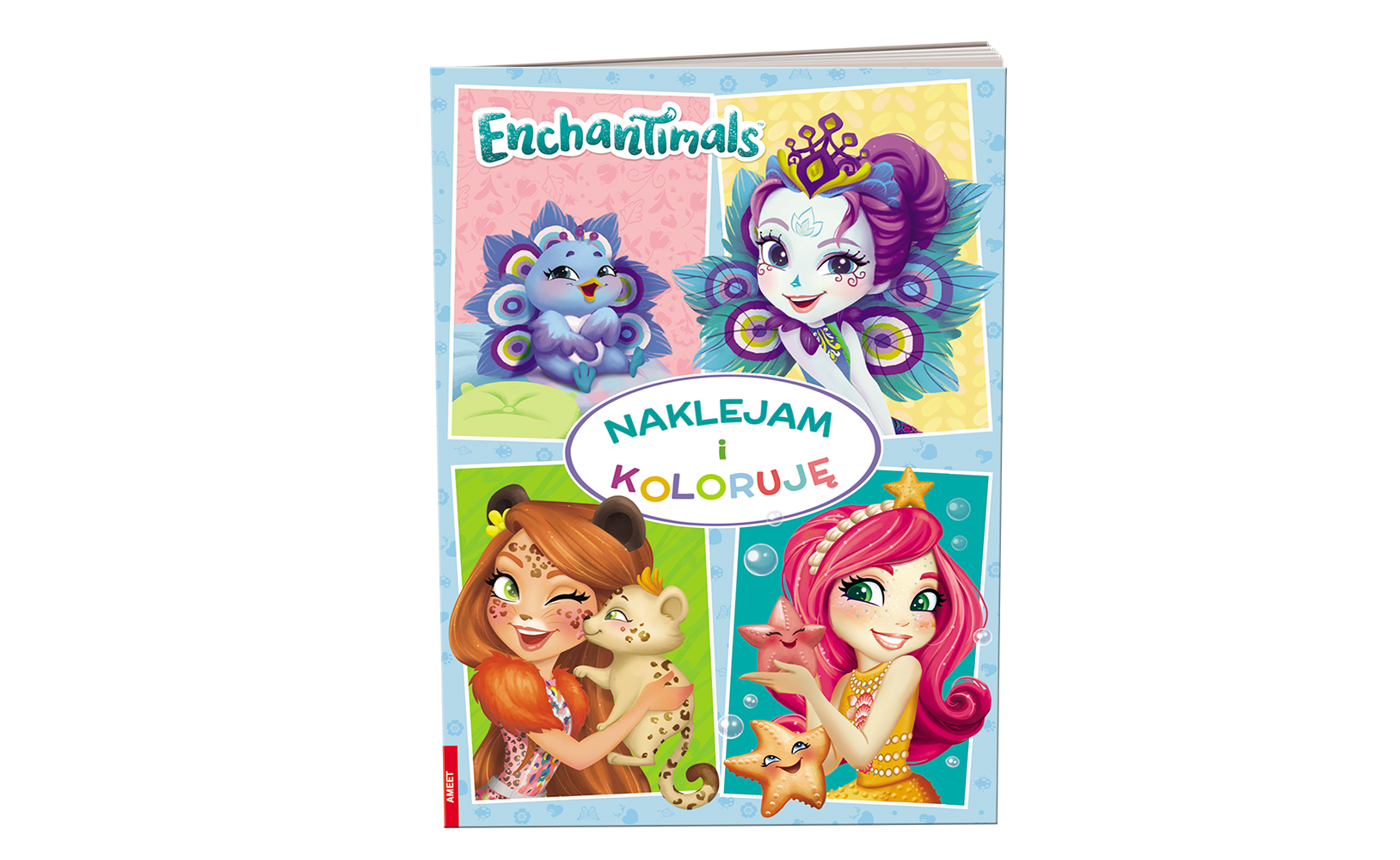 Enchantimals™. Naklejam i Koloruję