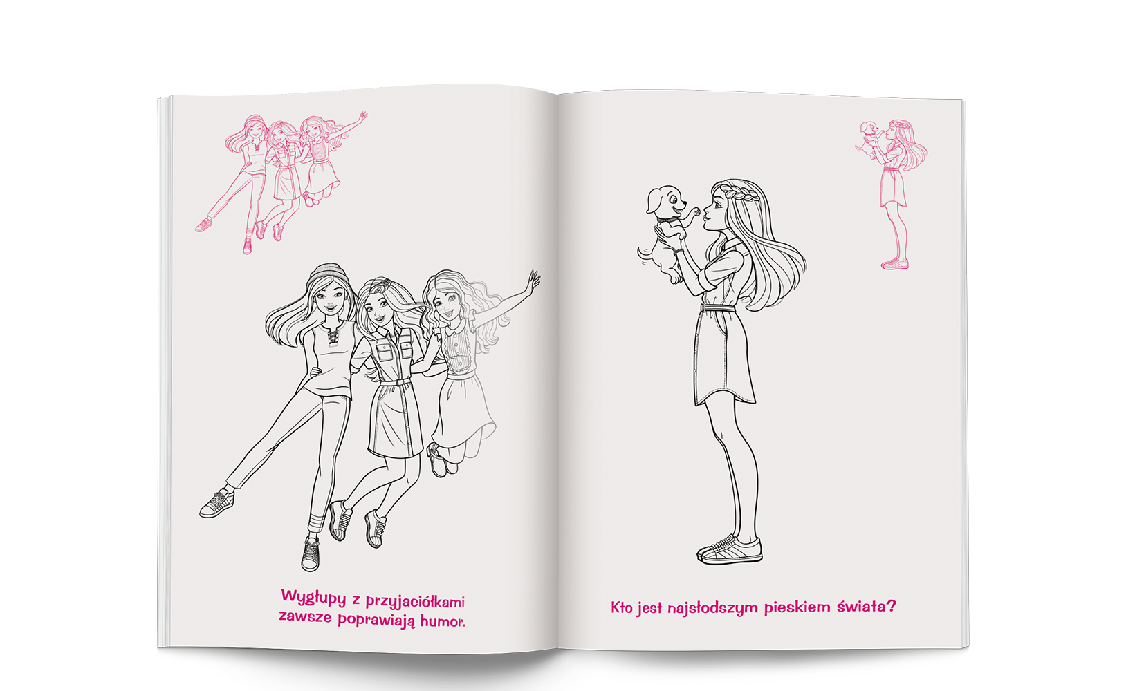 Barbie™. Kolorowanka znaklejkami