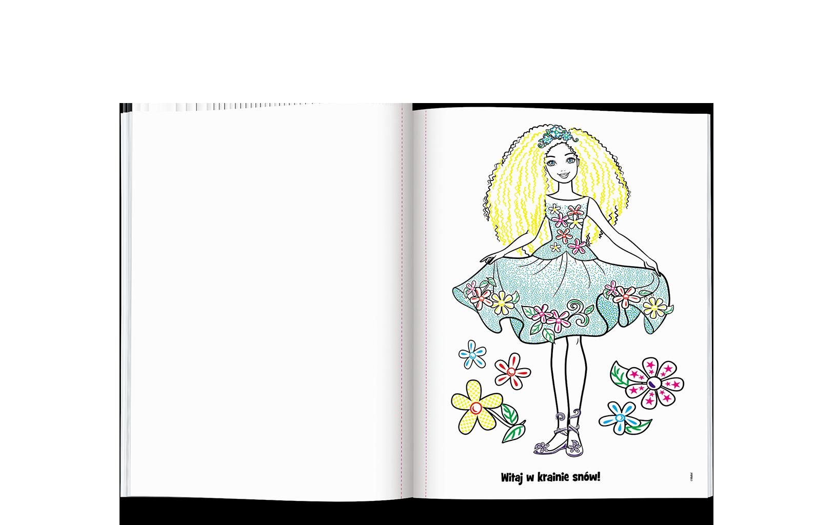 Barbie™ Dreamtopia. Malowanka Niespodzianka