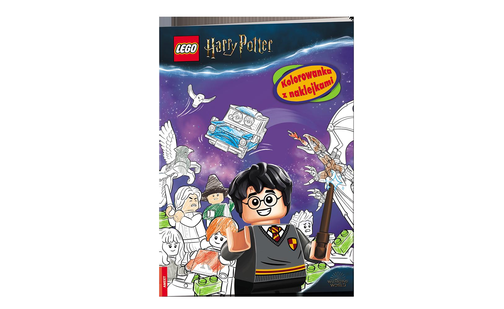 LEGO® Harry Potter™. Kolorowanka zNaklejkami