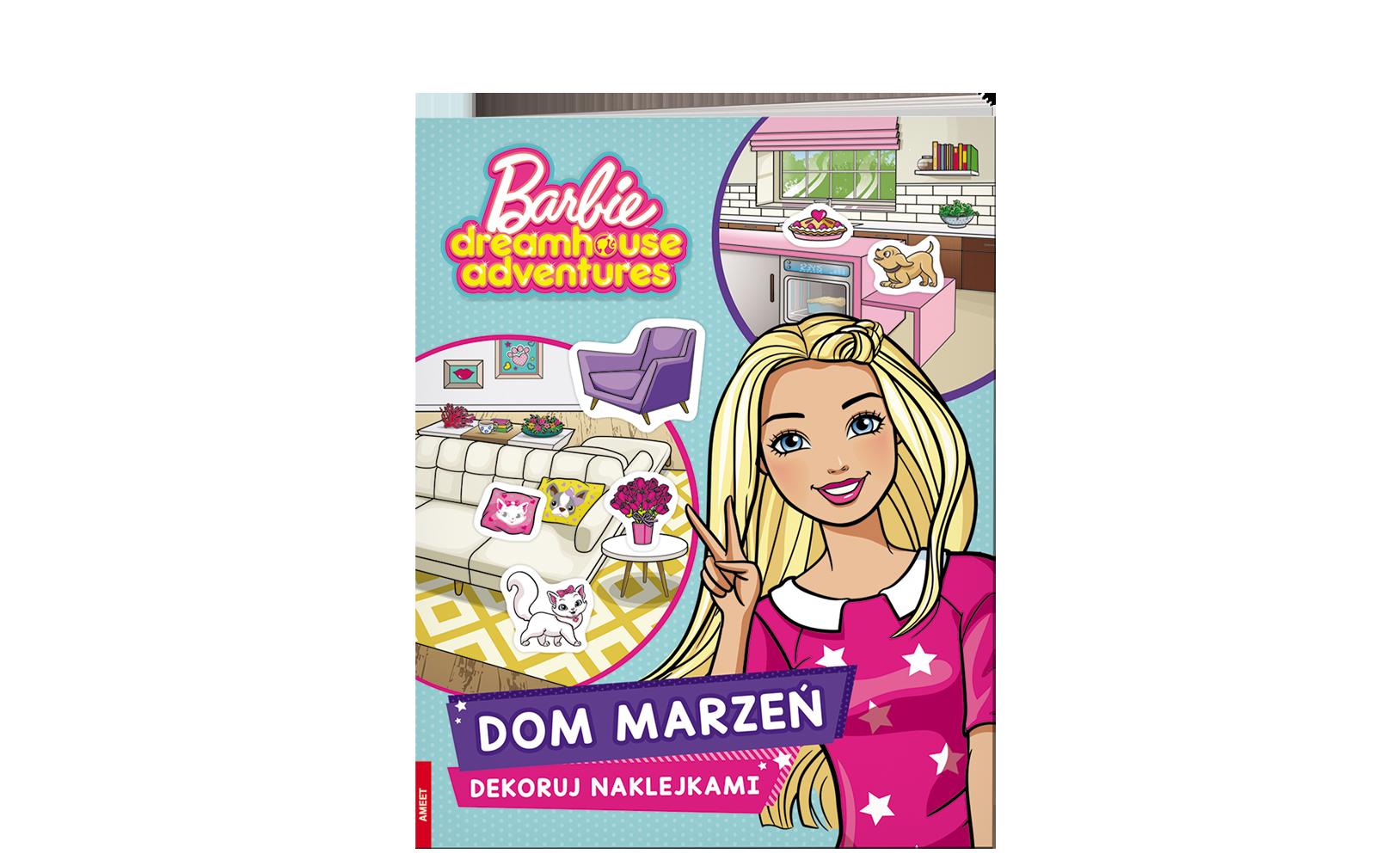 Barbie™. Dom marzeń. Dekoruj naklejkami
