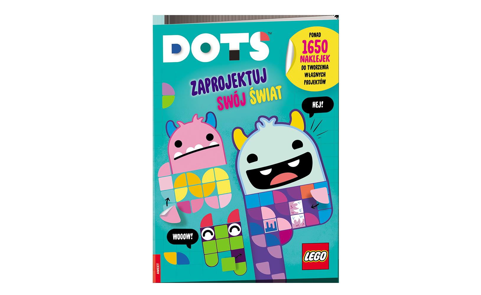 LEGO® DOTS™. Zaprojektuj swój świat