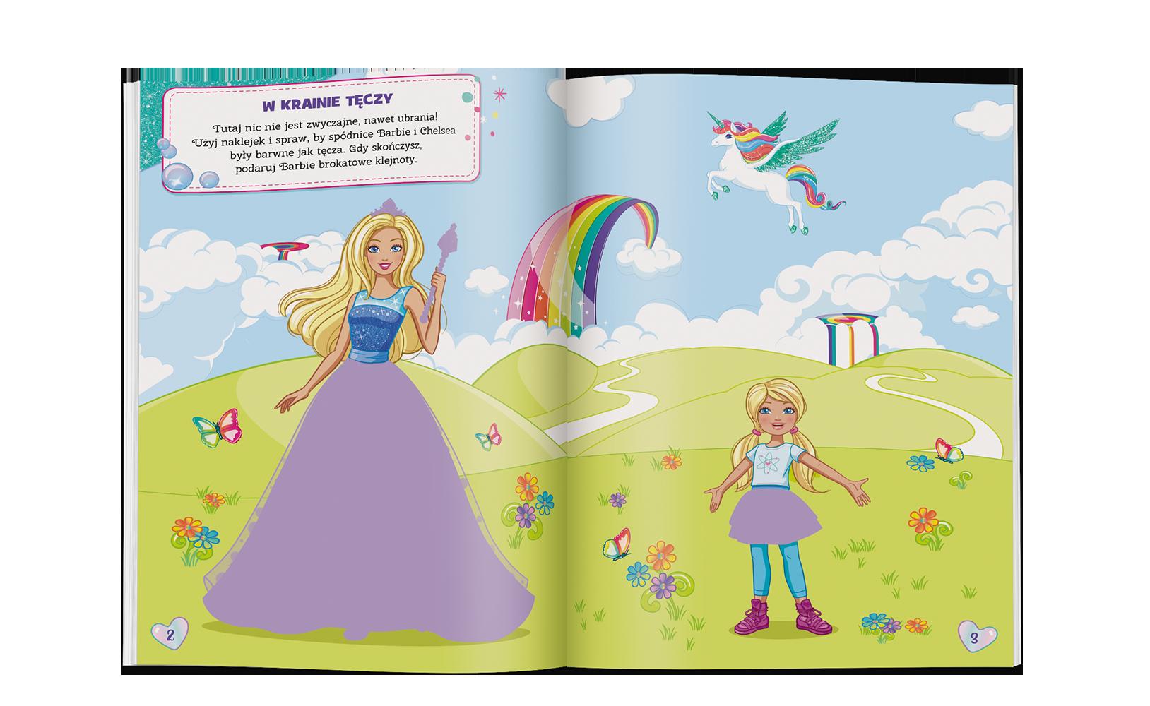 Barbie®. Brokatowe Ubieranki