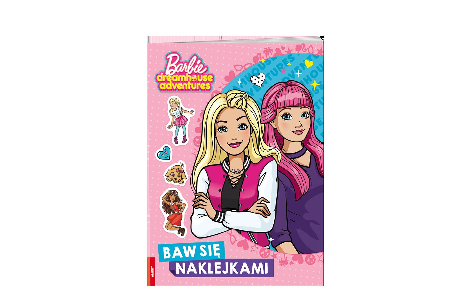 Barbie™. Baw się naklejkami